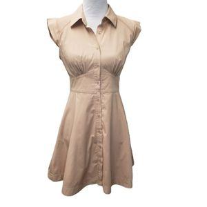 Victoria's Secret Blush Dress with Sheer Panels